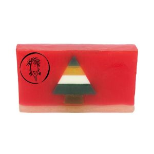 Christmas Tree Soap Slice