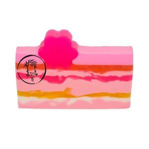 Amber Jasmine Vanilla Soap Slice