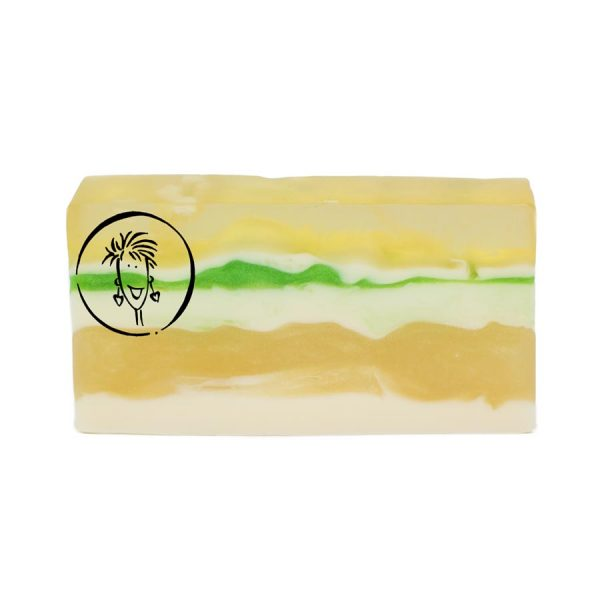 Island Coconut Soap Slice