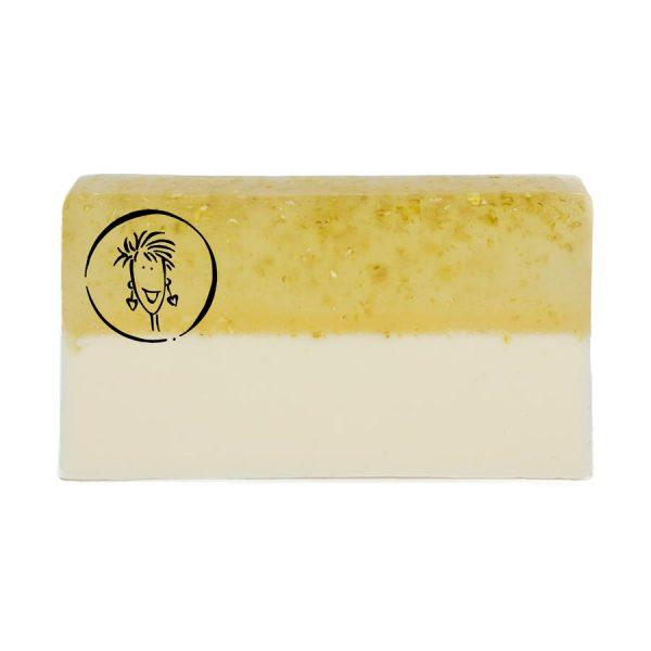 Oatmeal Milk and Honey Soap Slice
