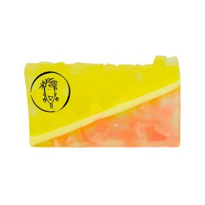 Pink Grapefruit Soap Slice