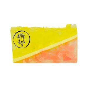 Pink Grapefruit Soap Slice