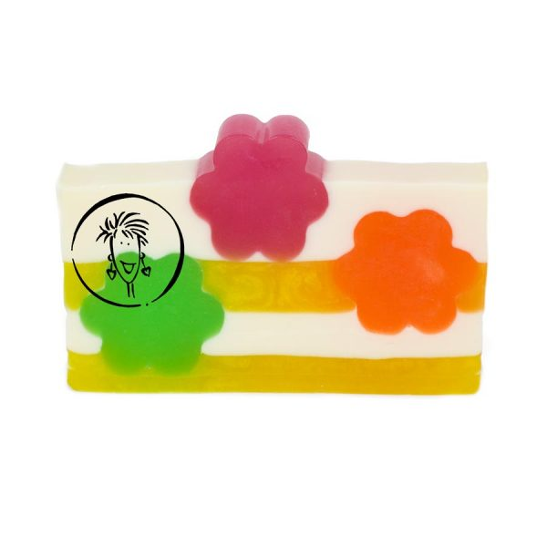 Tropical Fruit Soap Slice