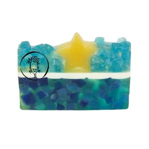 Balsam Cedar Leaf Clove and Vanilla Soap Slice