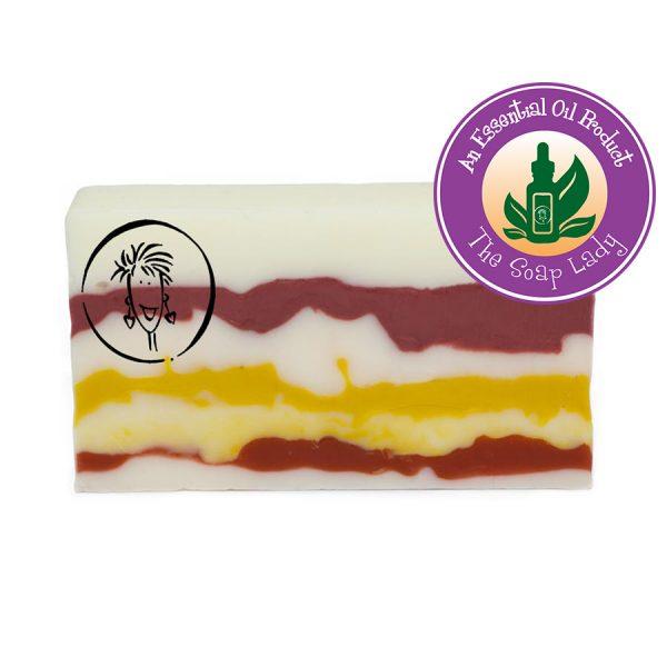 Rosemary and Tea Tree Soap Slice