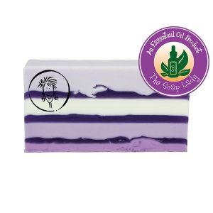 Lavender Soap Slice