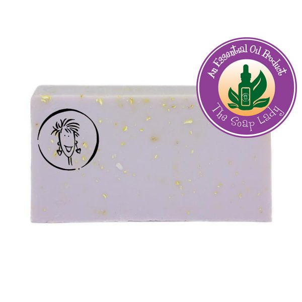 Lavender Oatmeal Soap Slice