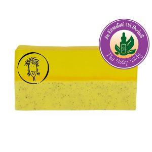Lemongrass Soap Slice