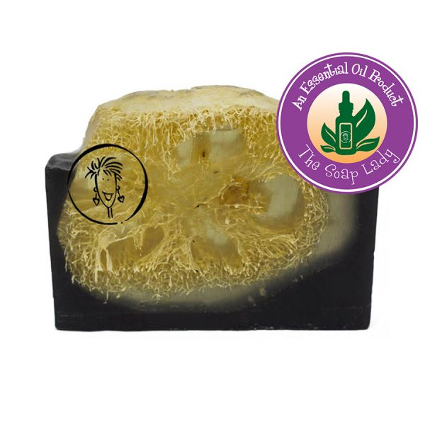 Rosemary Spearmint Soap Slice